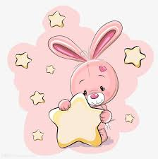 rabbit material pink rabbit material free to pull pink lovely rabbit png