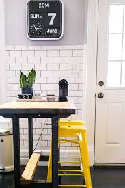 Retro Modern Desk Eclectic Kitchen With High Ceiling U0026 Hardwood Floors Zillow Digs