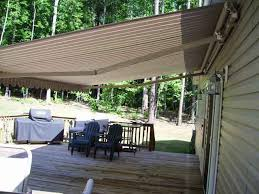Outdoor Retractable Awnings Lake Gaston Retractable Awnings For Boat Docks Decks Patios