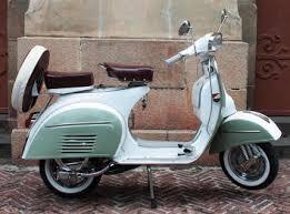 restored vintage vespa lambretta scooters