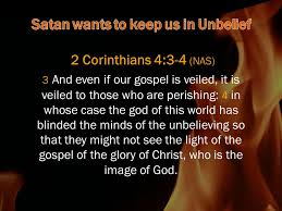 Light Of The Gospel Help Our Unbelief Mark 9 Nas 23 And Jesus Said To Him U201c U0027if