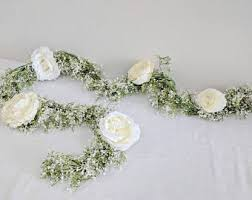 Wedding Flowers Table Flower Garland Floral Garland Wedding Garland Silk Flower