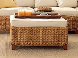 Seagrass Storage Ottoman Woven Seagrass Coffee Table Square Seagrass Coffee Table Seagrass