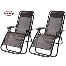 Zero Gravity Patio Lounge Chairs Merax Lounge Chair Zero Gravity Deck Chair Folding Reclining Patio