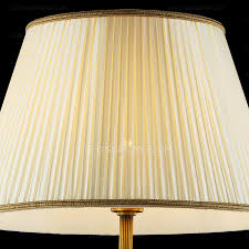 Vintage Brass Floor Lamp End Vintage Brass Floor Lamps Beige Fabric Shade