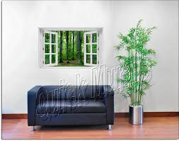 woodland forest window woodland forest window roomsetting