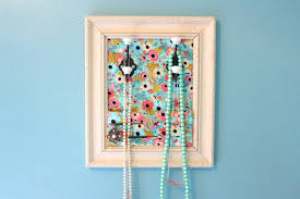 make necklace holder images Diy jewelry organizer jpg