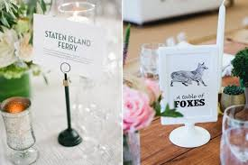 Ideas With A Name 40 Creative Wedding Table Name Ideas Weddingsonline