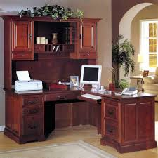 corner computer desk with hutch l shaped home office desk desk and