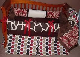 giraffe baby crib bedding sweet cherry giraffe baby bedding 1095 289 00 modpeapod we