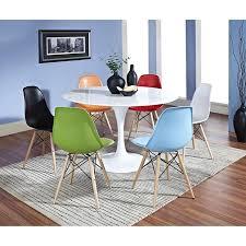 Eero Saarinen Table Amazon Com Modway Eero Saarinen Style Tulip Dining Table In White