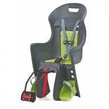 siège arrière bébé vélo sur cadre boodie polisport