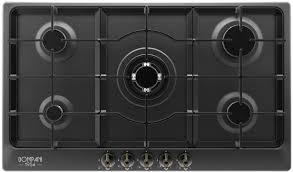 bompani piano cottura piano cottura bompani da 90 cm colore rustico antracite bo297mb n