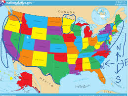 Map Of Mexico With States by United States Map Social Studies Showme
