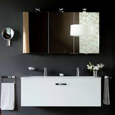 Heated Bathroom Mirror With Light Led Bathroom Mirror Cabinet With Shaver Socket Photogiraffe Me
