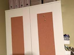 Ikea Closet Hack Ikea Brimnes Wardrobe With Corkboard Panels Ikea Hackers Ikea