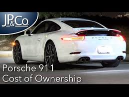 911 porsche cost porsche 911 cost of ownership