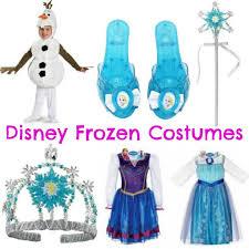 Anna Frozen Costume Disney Frozen Costumes Elsa Anna U0026 Olaf