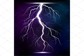 Discount Electrical Thunderbolt Theme Lightning Storm Strike Realistic 3d Light Lighting Effects Vector