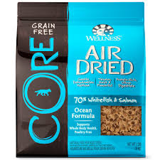 wellness core air dried natural grain free ocean recipe dry dog