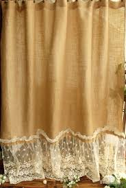 Burlap Ruffle Curtains 234 Best Beautiful Curtains Images On Pinterest Beautiful