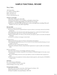 functional resume sles skills and abilities functional resume cv sle of a l 1e88f26861f6895e exle 5a 2017
