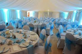 turquoise chair sashes chair cover hire