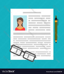writing a cv resume writing a business cv resume royalty free vector image writing a business cv resume vector image