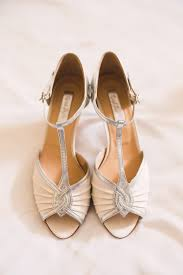 wedding shoes monsoon outdoor wedding at furtho manor farm with flowers
