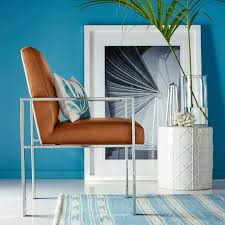 Turquoise Armchair Mercer Dining Armchair Williams Sonoma