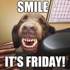 Smile Memes - smile it s friday smiling lab quickmeme