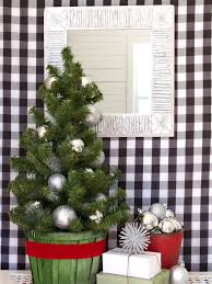 15 festive entryway decorating ideas for the holidays hgtv u0027s