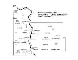 Mn Counties Map Morrison County Mn Map Image Gallery Hcpr