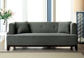 Transitional Sofas Furniture Gray Transitional Style Modern Sofa