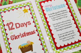 the 12 days before christmas a celebration of the nativity free