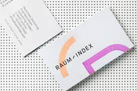 Bp Business Card New Brand Identity For Raumindex By Moodley U2014 Bp U0026o