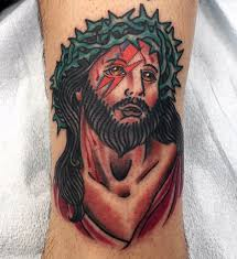 50 traditional jesus tattoo designs for men christ ink ideas