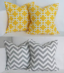 Sofa Pillows Covers by Styles Yellow Throw Pillows Blue And Brown Couch Pillows