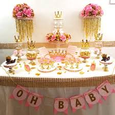 candy bar for baby shower princess baby shower candy buffet centerpiece with baby shower