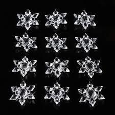 20pcs snowflakes ornaments festival tree
