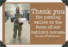 operation gratitude how you can help say thank you