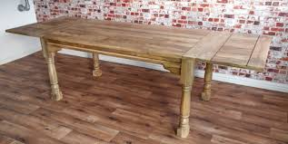 reclaimed wood extending dining table with inspiration photo 7098