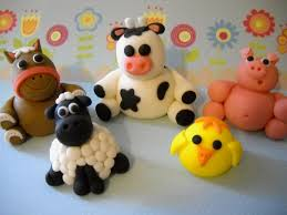 farm cake toppers awesome edible cake toppers figures winnie the pooh inspired