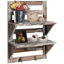 Wall Mounted Flower Pot Holder Kitchen Racks