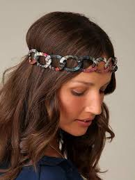 fabric headbands diy fabric chain headband express thru dress