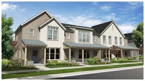 row homes rhythm home plan by thrive home builders in elements income
