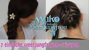 Hochsteckfrisurenen Nachmachen by Zwei Einfache Meerjungfrauen Frisuren Zum Nachmachen Mako