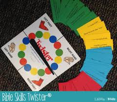 game of the week bible skills twister