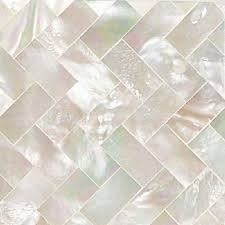 jewels ahnzu glass mosaics of pearl 2 x 2