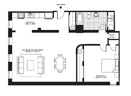 Small Apartment Floor Plans One Bedroom Small 1 Bedroom Apartment Descargas Mundiales Com
